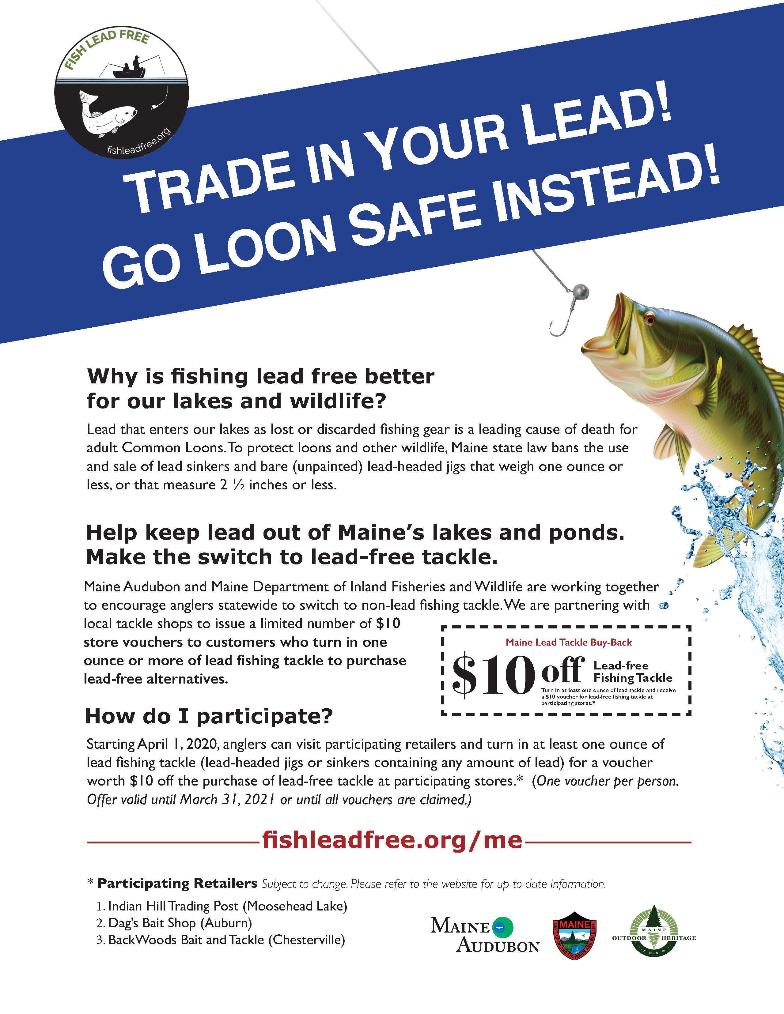 Maine Fish Lead Free
